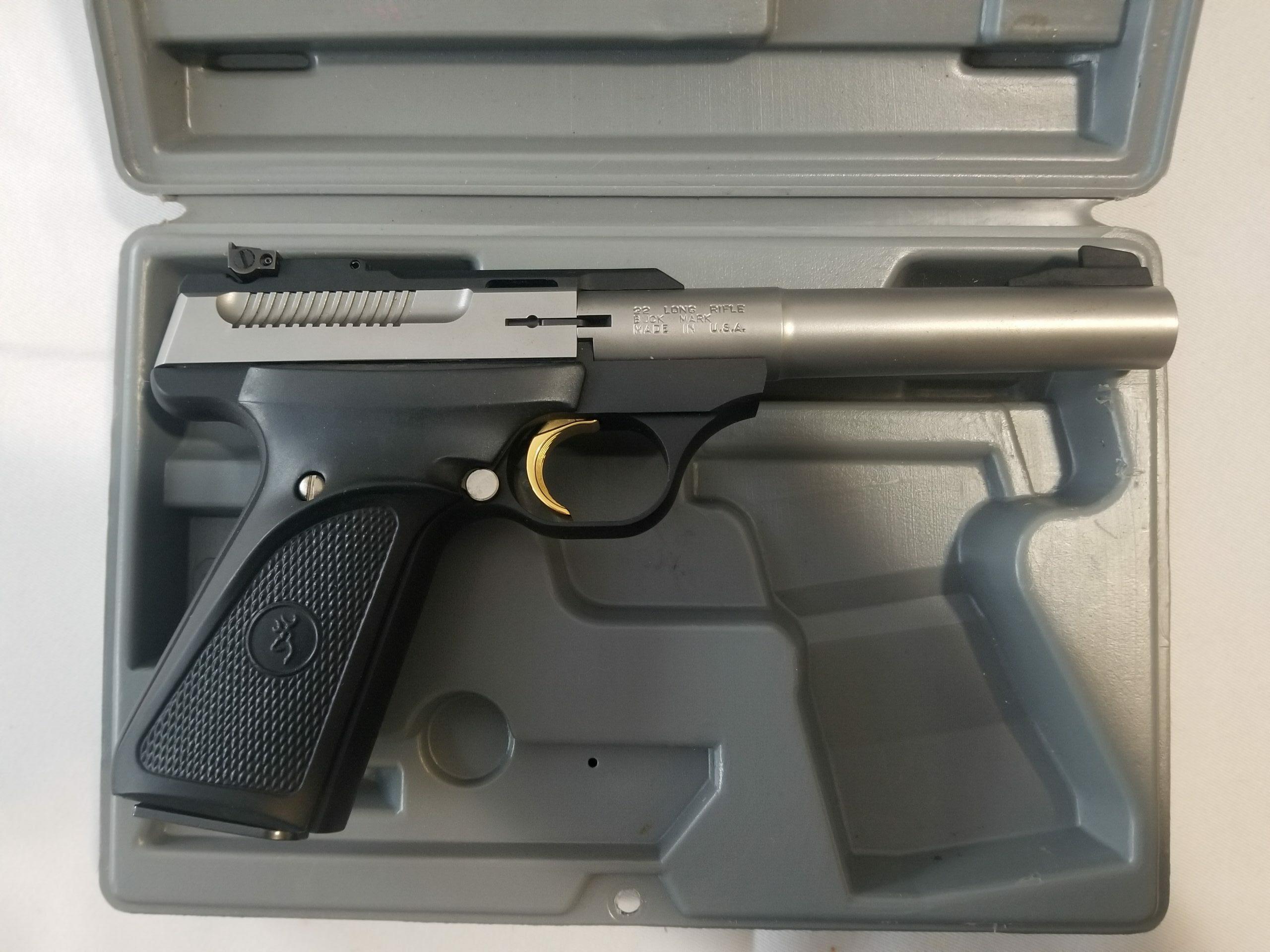Browning Buck Mark .22 Caliber Semi-Auto Target Pistol