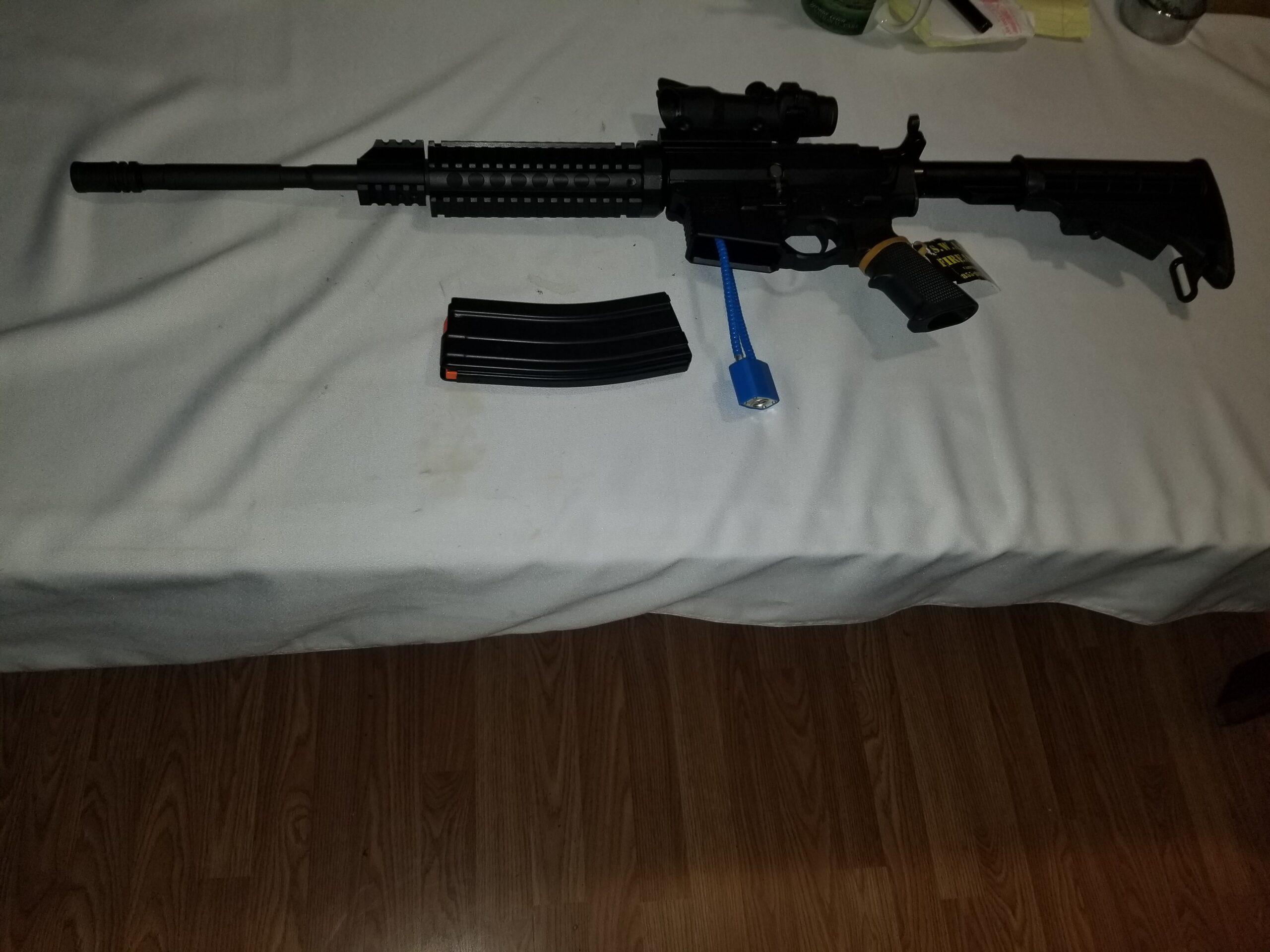 S.W.A.T. Firearms Billeted AR 15 in 5.56 NATO
