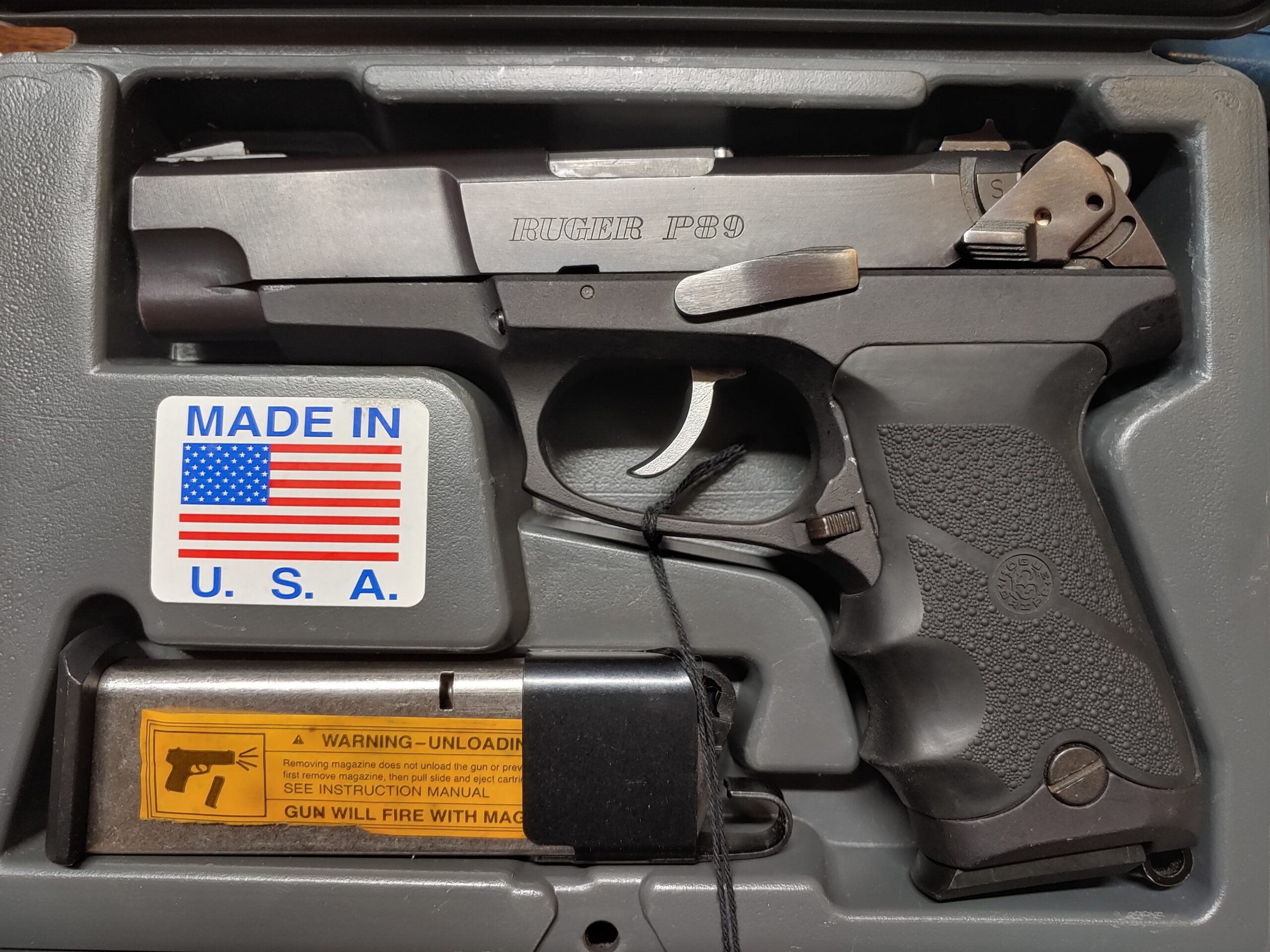 Ruger P89 9x19mm
