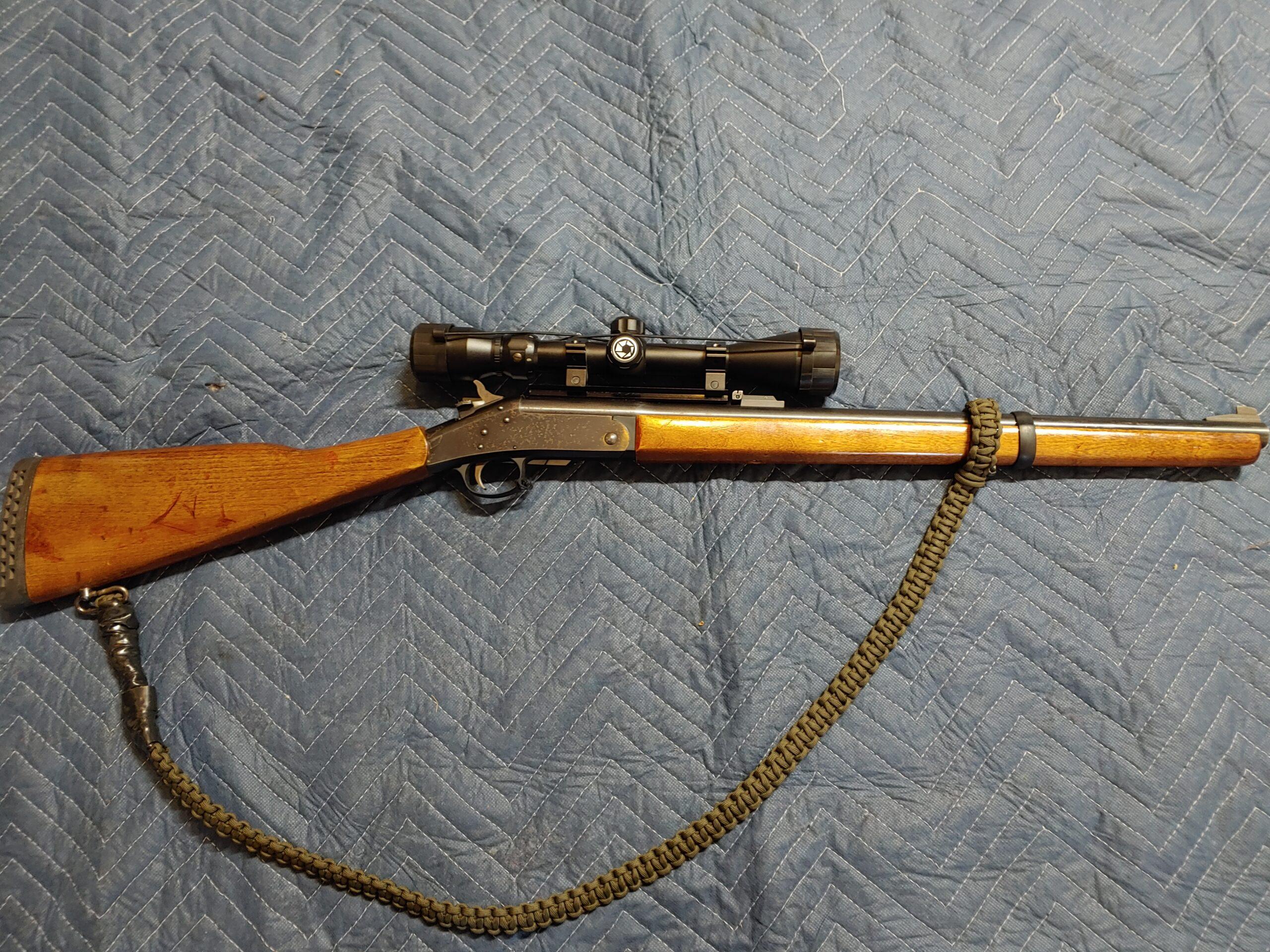 New England Firearms Handi Rifle 243win