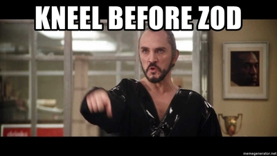 kneel before zod